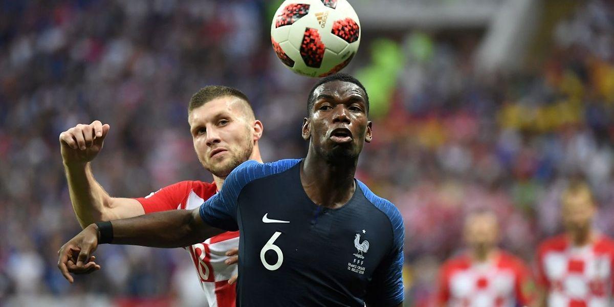 Paul Pogba a donné le coup de grâce à la Croatie en inscrivant le troisième but des Bleus.