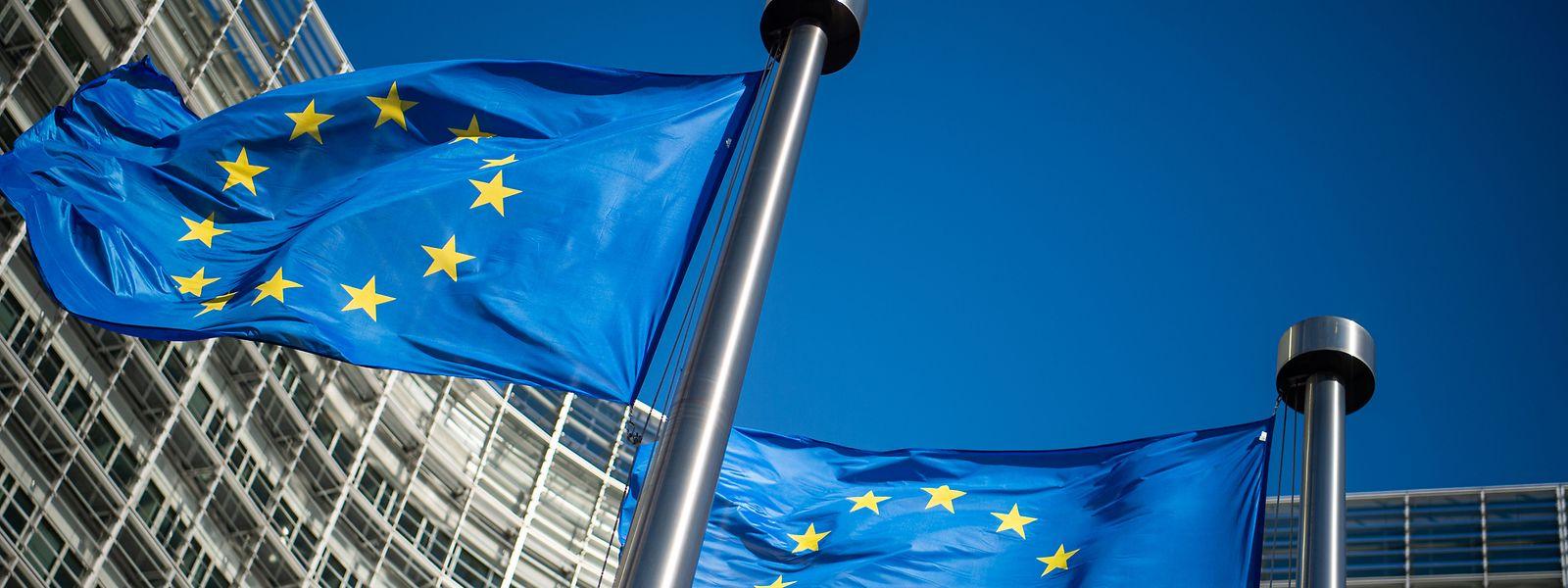 Brüssel: Das Berlaymont-Gebäude, der Sitz der Europäischen Kommission.