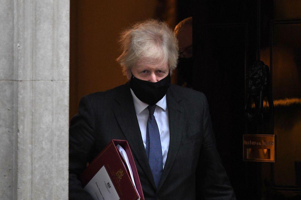 UK Prime Minister Boris Johnson Photo: AFP
