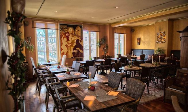 Brasserie Bosso in Grund has a great choice of dishes including spätzle