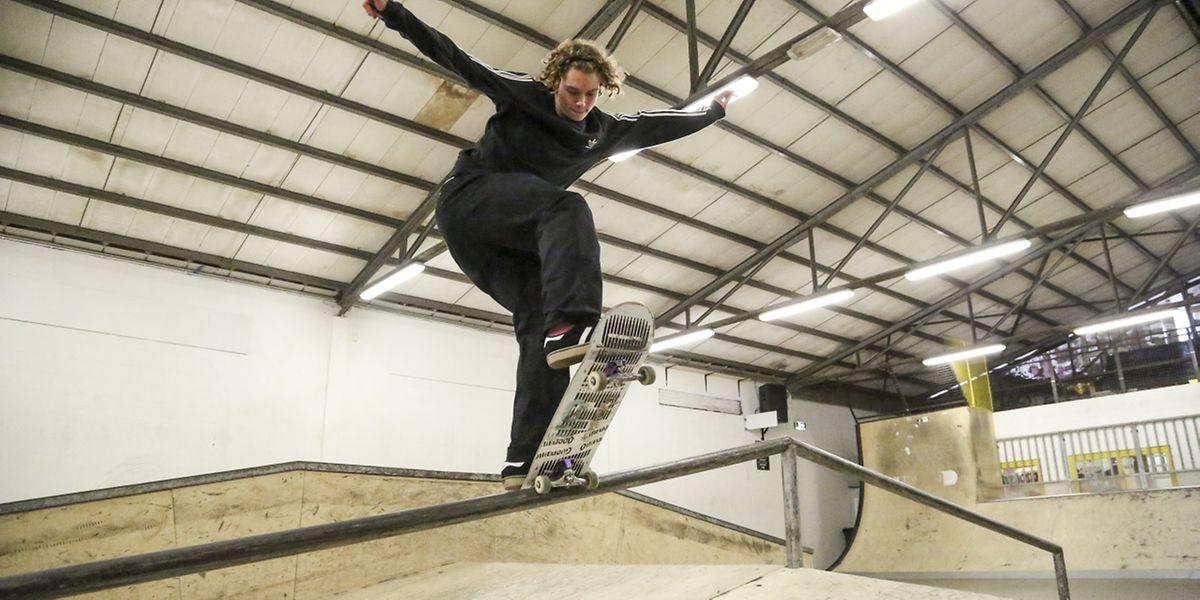 Sven Kieffer hat im Alter von sechs Jahren mit dem Skateboarden begonnen.
