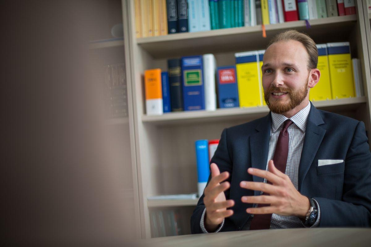 Werner Haslehner, professeur de droit fiscal européen et international à l'Université du Luxembourg.