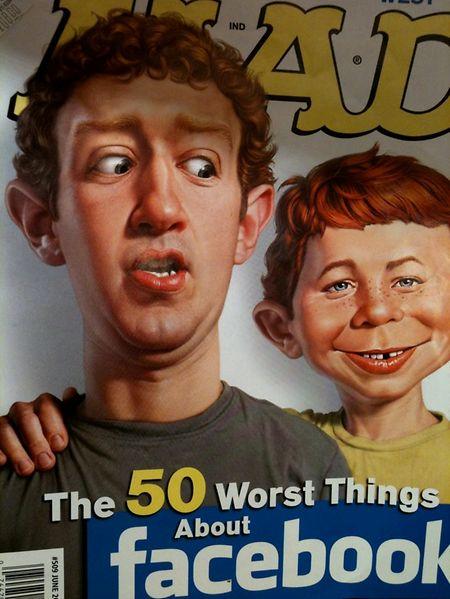 Ein Mad-Cover vom Juni 2011.