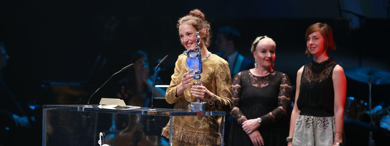 Vicky Krieps a remporté le prix de la meilleure performance pour son rôle dans le film Gutland