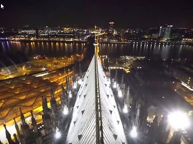 Köln einmal anders - aus der Vogelperspektive.