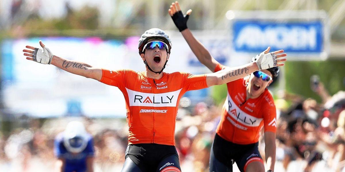 L'Américain Evan Huffman (Rally Cycling) s'est imposé mercredi à Santa Clarita, au terme de la quatrième étape du Tour de Californie