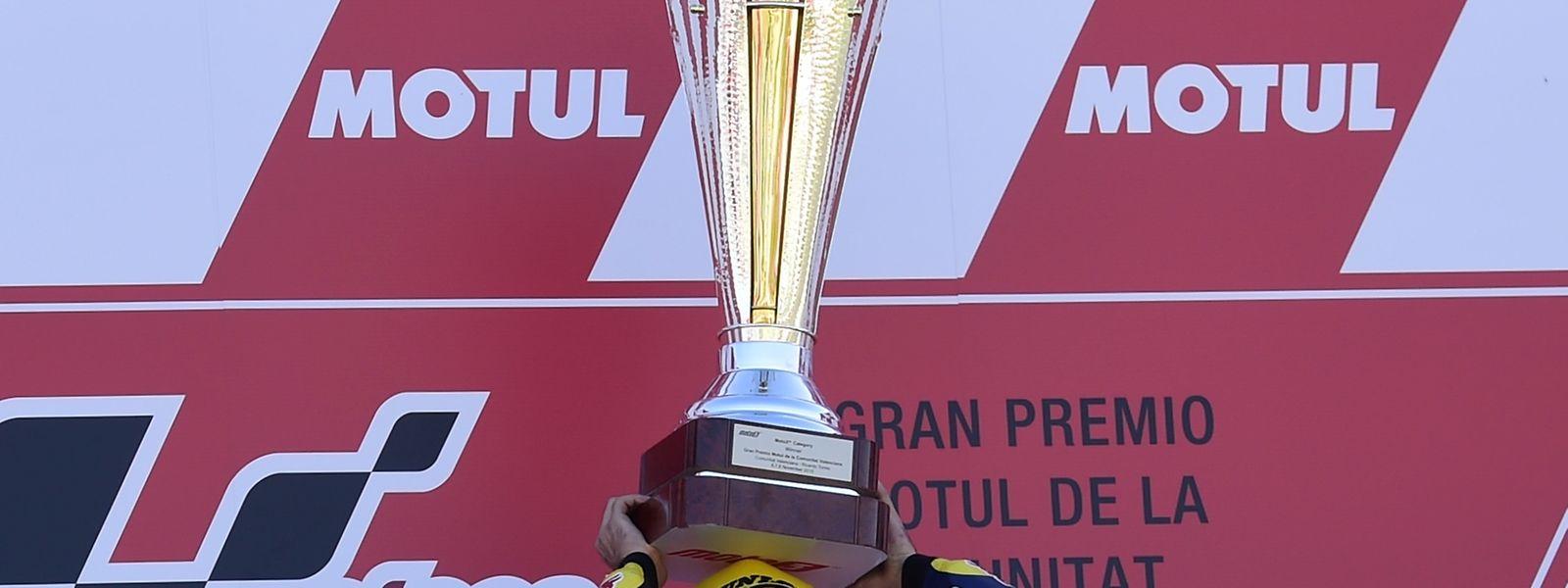 O piloto luso ficou a apenas seis pontos do título mundial