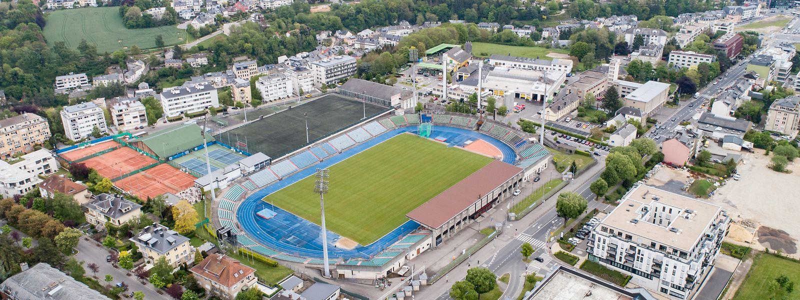Le projet s'étalera sur 10 hectares - dont 83% sont propriété de la Ville - qui englobent le stade national Josy Barthel mais aussi la caserne des pompiers, un terrain de football, le hall omnisports, des courts de tennis, le service d'hygiène de la Ville et un centre de recyclage.