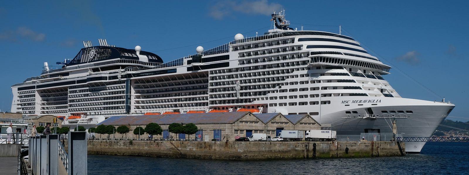 Vor Mega-Schiffen - hier zu sehen: die MSC Meraviglia für 5700 Passagiere - schrecken noch viele Reisende zurück.