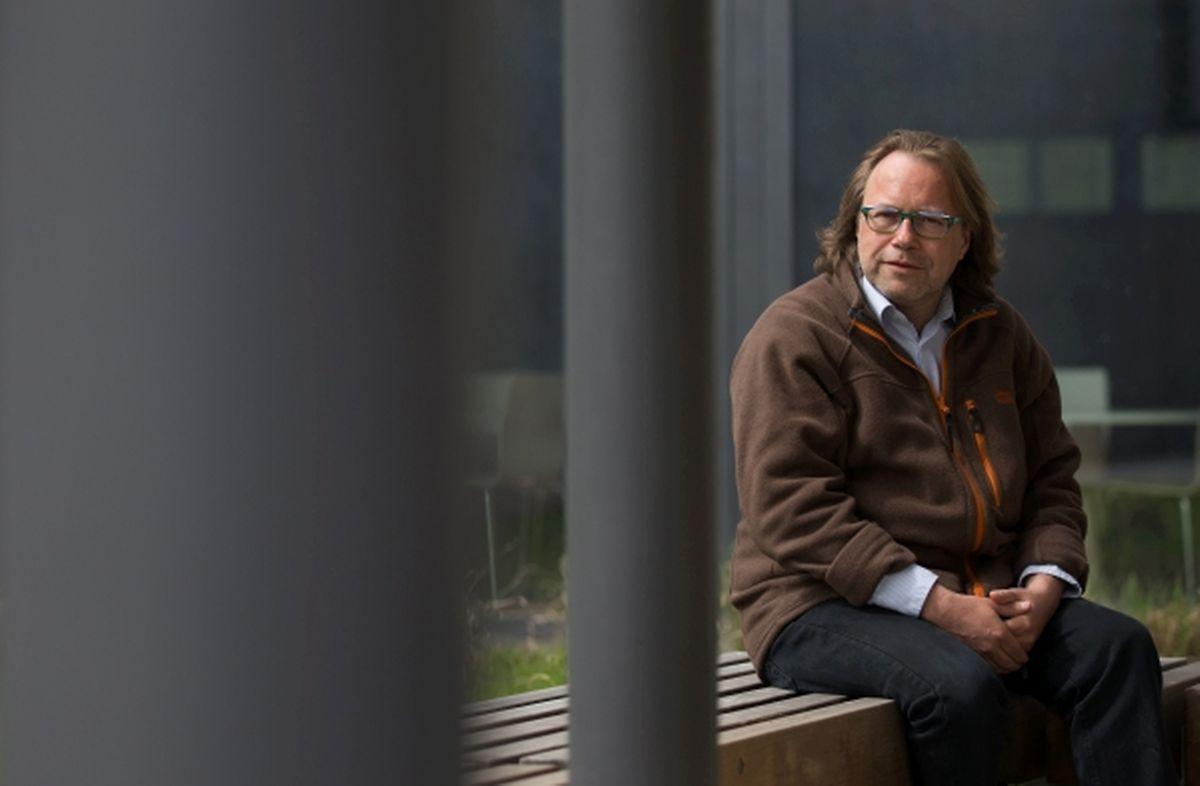 """Der Leiter der """"Unité de sécurité"""" in Dreiborn: Guy Aeckerlé."""