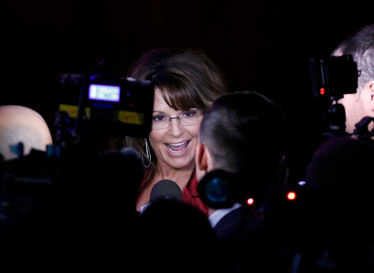 Sarah Palin ist eine von mehreren Kandidaten für das Innenministerium.