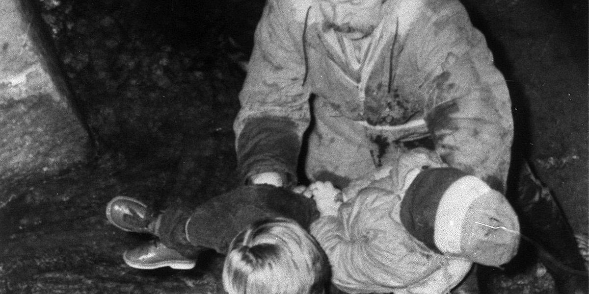 Die Leiche von Grégory Villemin wir im Oktober 1984 im Flüsschen Vologne gefunden.