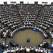 ARCHIV - 14.09.2016, Frankreich, Straßburg: Das Europäische Parlament in Straßburg. Das EU-Parlament will am 05.07.2017 über seine Position zur umstrittene Reform des Urheberrechts abstimmen. (zu dpa «Umstrittene Urheberrechtsreform: Abstimmung im EU-Parlament» vom 04.07.2018) Foto: Patrick Seeger/dpa +++ dpa-Bildfunk +++