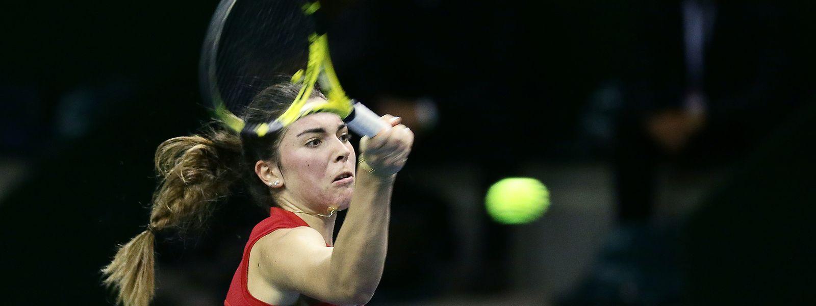 Eléonora Molinaro gewann den ersten Satz, ehe ihre Kontrahentin der Begegnung noch eine Wende gab.