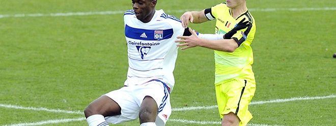 Christopher Martins a disputé 78 minutes avec les jeunes Lyonnais.