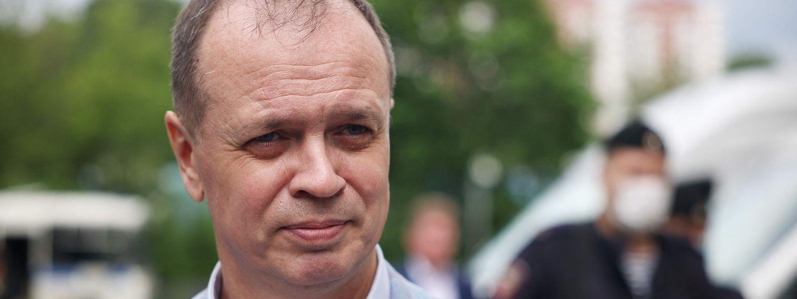 """""""Ich habe nicht vor, wegzulaufen"""", so Iwan Pawlow, Leiter der Anwaltsorganisation """"Komanda 29""""."""