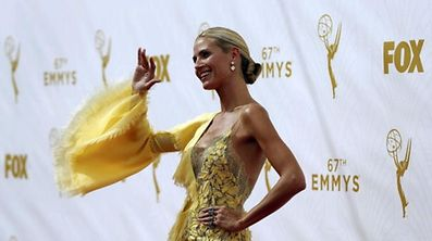 Model and television personality Heidi Klum arrives at the 67th Primetime Emmy Awards in Los Angeles, California September 20, 2015.  REUTERS/Mario Anzuoni