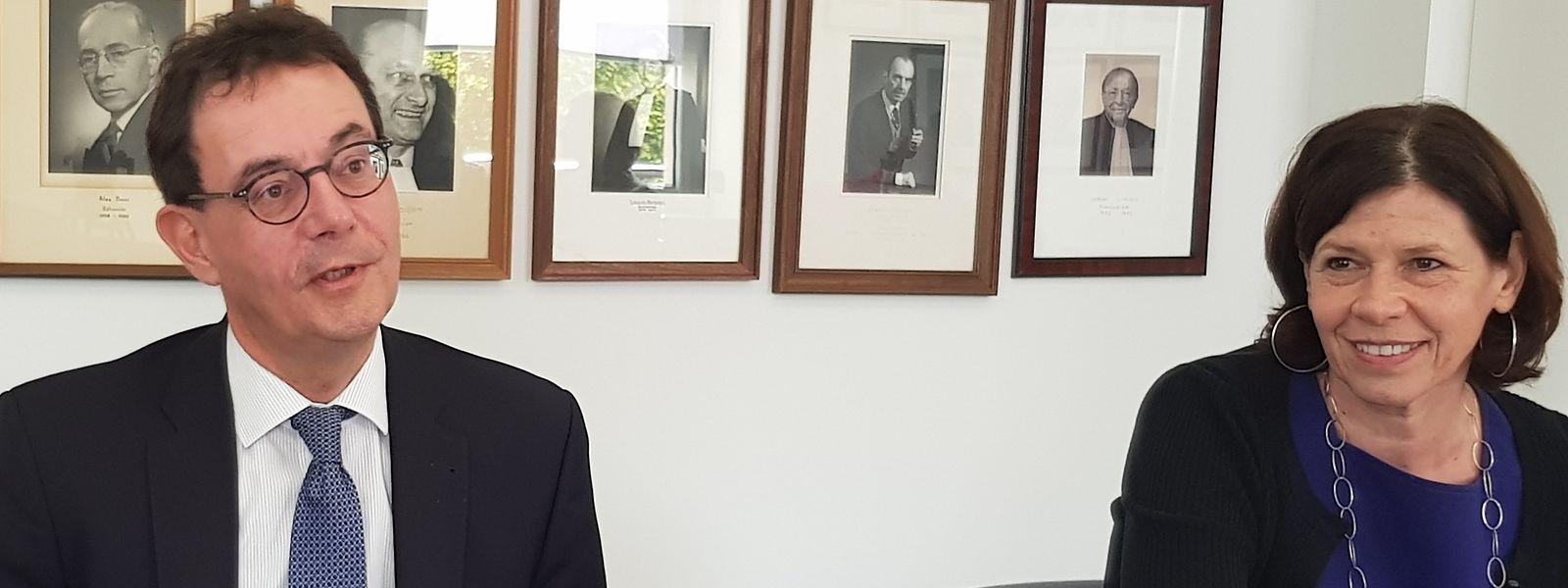 Bâtonnier François Kremer betont, dass das Anwaltsgeheimnis von existenzieller Bedeutung für den Berufsstand ist.