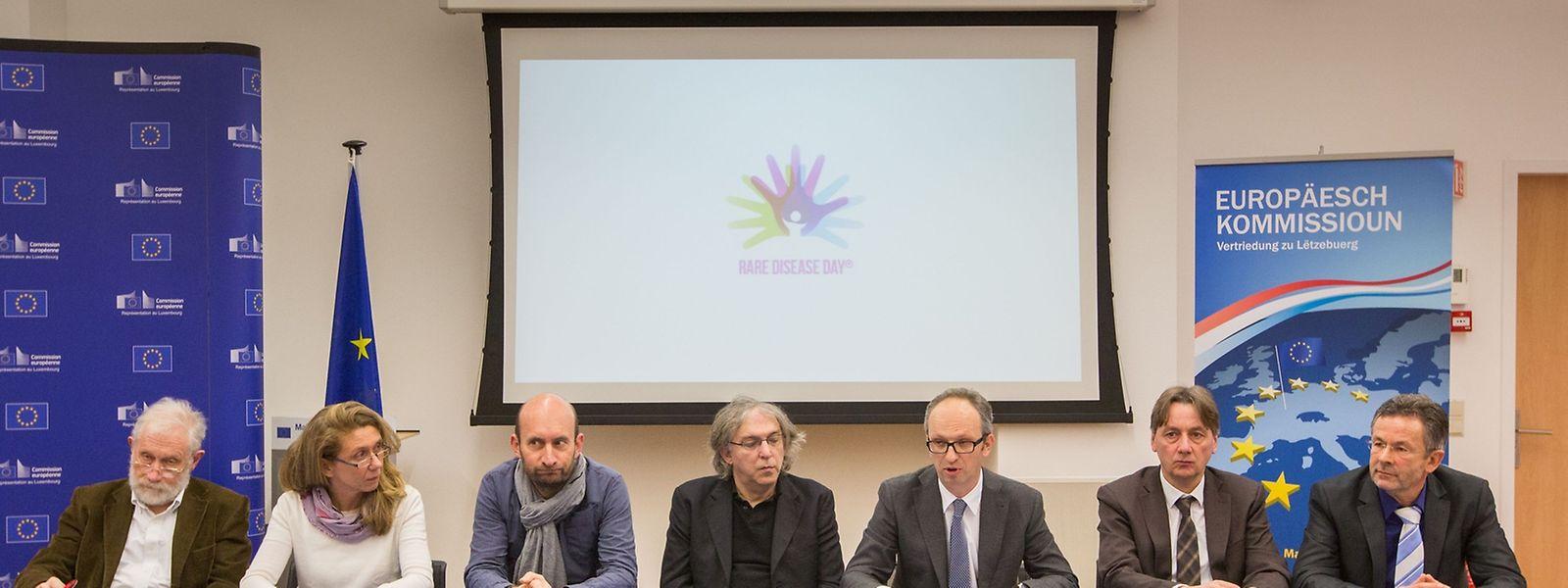 """Die Vertreter von ALAN und der Europäischen Kommission für seltene Erkrankungen haben am Montag eine Konferenz unter dem Motto: """"Erhebt eure Stimme – Gemeinsam für die Seltenen"""" gegeben."""