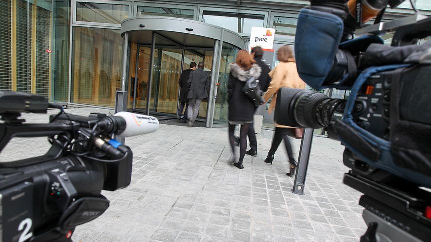 Le 6 novembre, soit le lendemain de la publication des LuxLeaks, il y avait une certaine agitation devant les nouveaux bureaux de PwC.