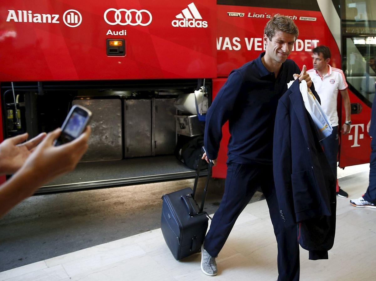 Avec huit buts inscrits en six matches (club et sélection confondus), Thomas Müller pète la forme avant le déplacement du Bayern à l'Olympiacos du Pirée