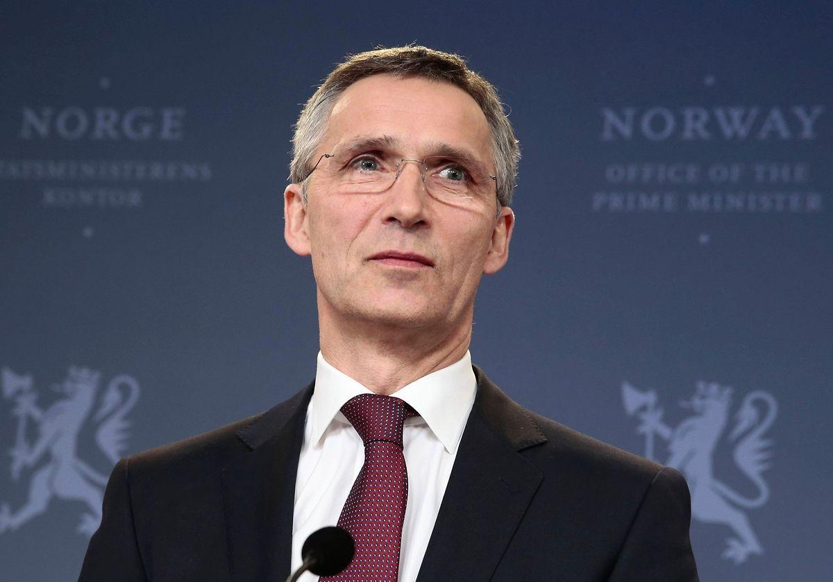Generalsekretär Stoltenberg meinte, das Bündnis sei für Krisen geschaffen worden und solle jetzt auch Verantwortung übernehmen.