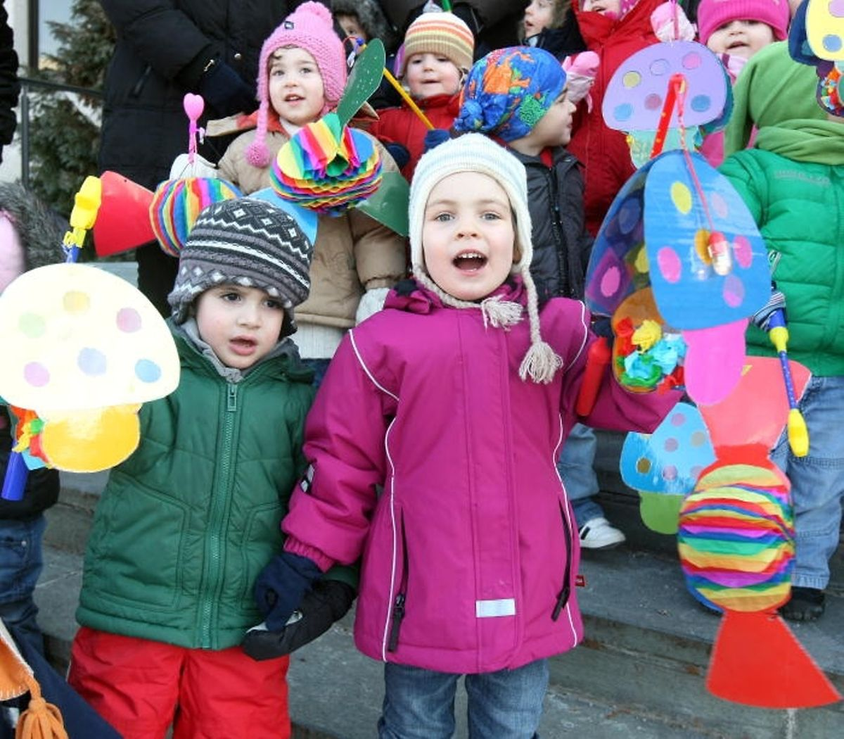 Keep an eye out on the roads for children bearing homemade lanterns on 2 February Photo: Gerry Huberty
