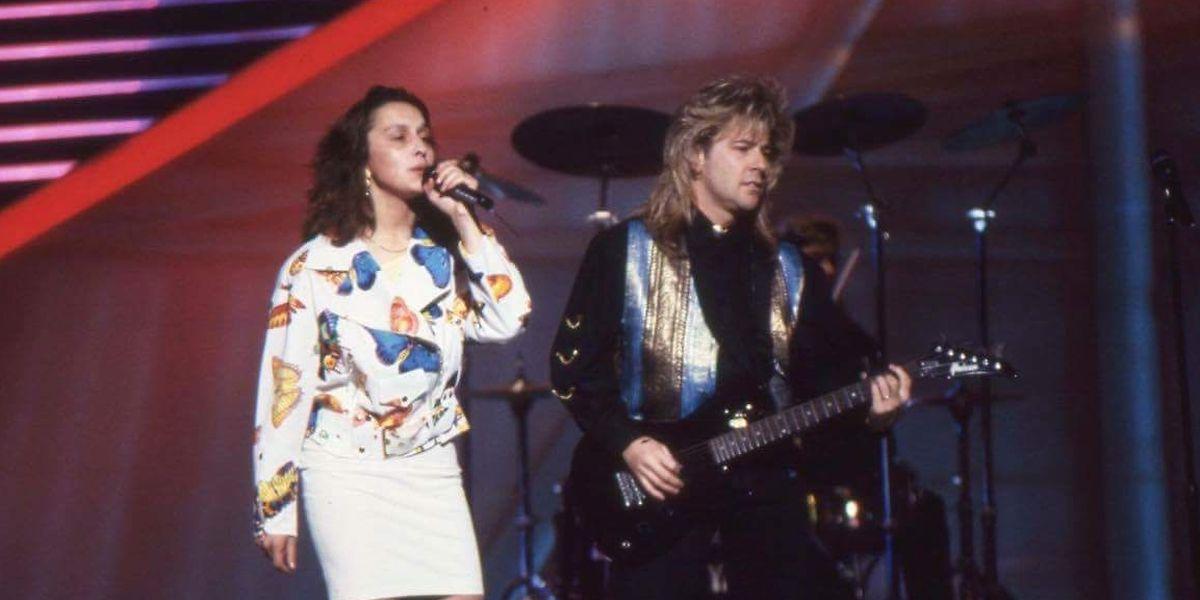 Simone Weis und Jimmy Martin starteten als Duo Modern Times für Luxemburg.