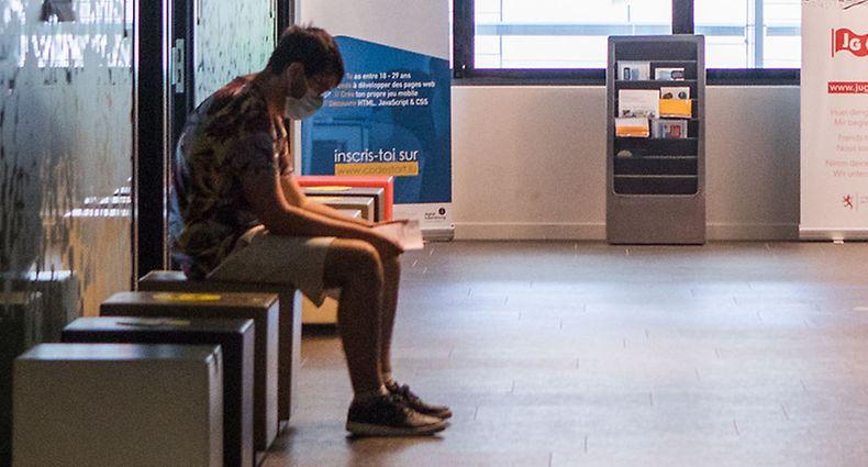 Wirtschaft, Jugendarbeitslosigkeit in der Corona-Krise, Adem, Arbeitslos, Arbeitsamt, Foto: Lex Kleren/Luxemburger Wort