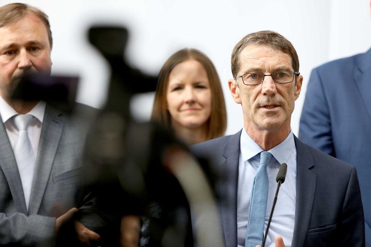 Der DP-Fraktionvorsitzende Eugène Berger sähe es gerne, wenn die Liberalen auch nach dem 14. Oktober wieder Regierungsverantwortung übernehmen könnten.
