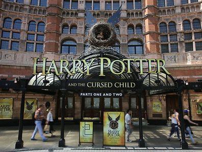 Das Theater in London bereitet sich auf den Ansturm vor.