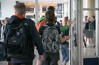 40 Prozent der Primaner haben sich vor Schulbeginn auf das Corona-Virus testen lassen.