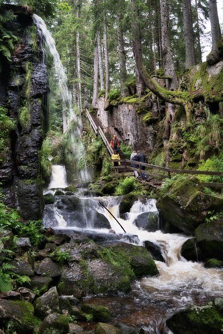 Wasserfälle gibt es im Schwarzwald so einige zu finden.