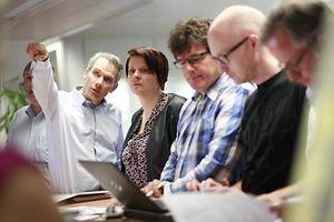 Christine Lutgen, Chefredakter fir een Dag, photo Guy Wolff