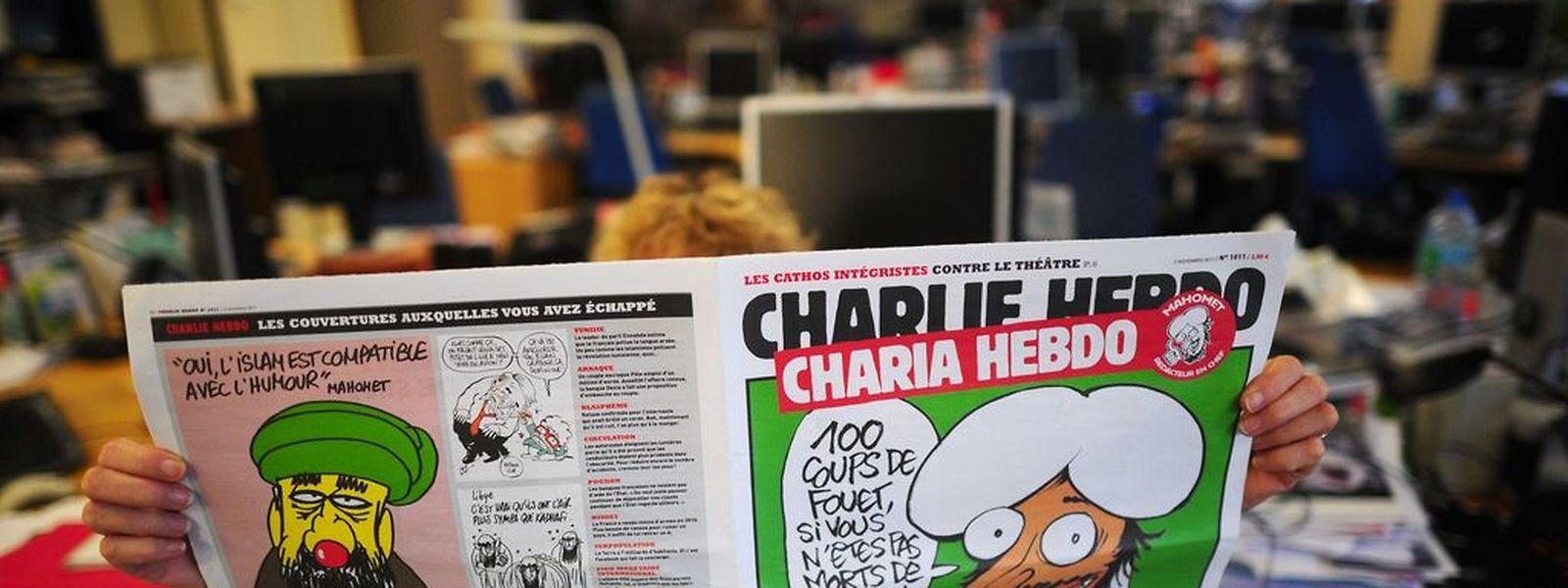 Schüsse auf Charlie Hebdo, Schüsse auf die Meinungsfreiheit.