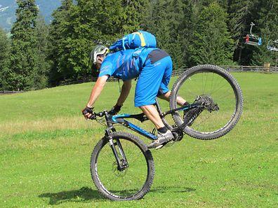 In der Zugspitzregion gibt es jede Menge Wege und Trails für Mountainbiker.