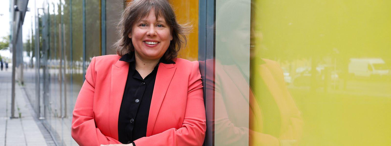 """Corinne Lamesch: """"La confiance dans le secteur financier est restée intacte."""""""