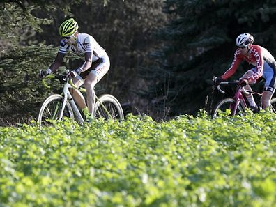 Gusty Bausch et Christian Helimg. Le coureur de Brouch et le champion national seront encore les hommes à suivre cette saison.