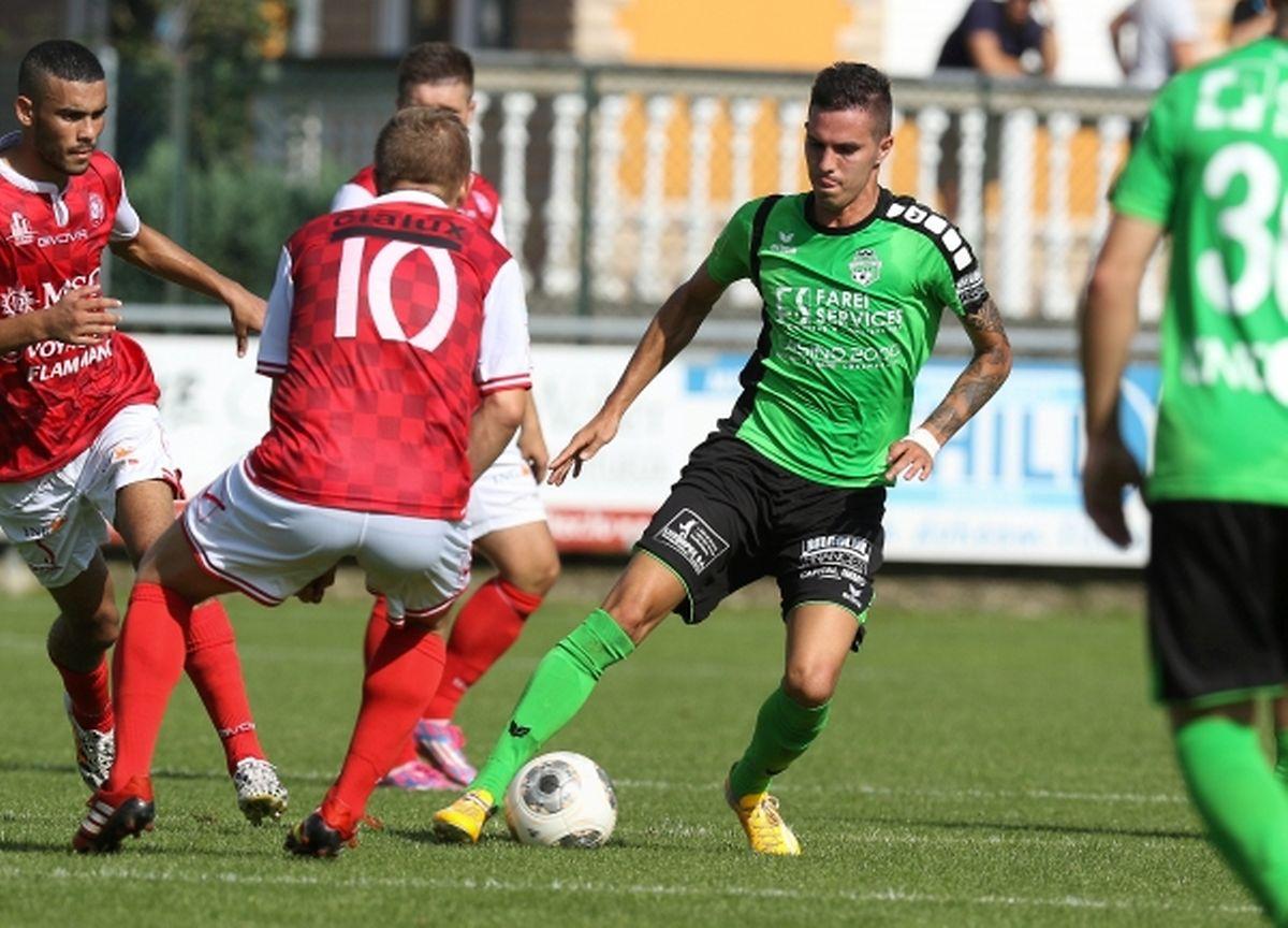 Ramiro Valente a offert les trois points à Mondorf.