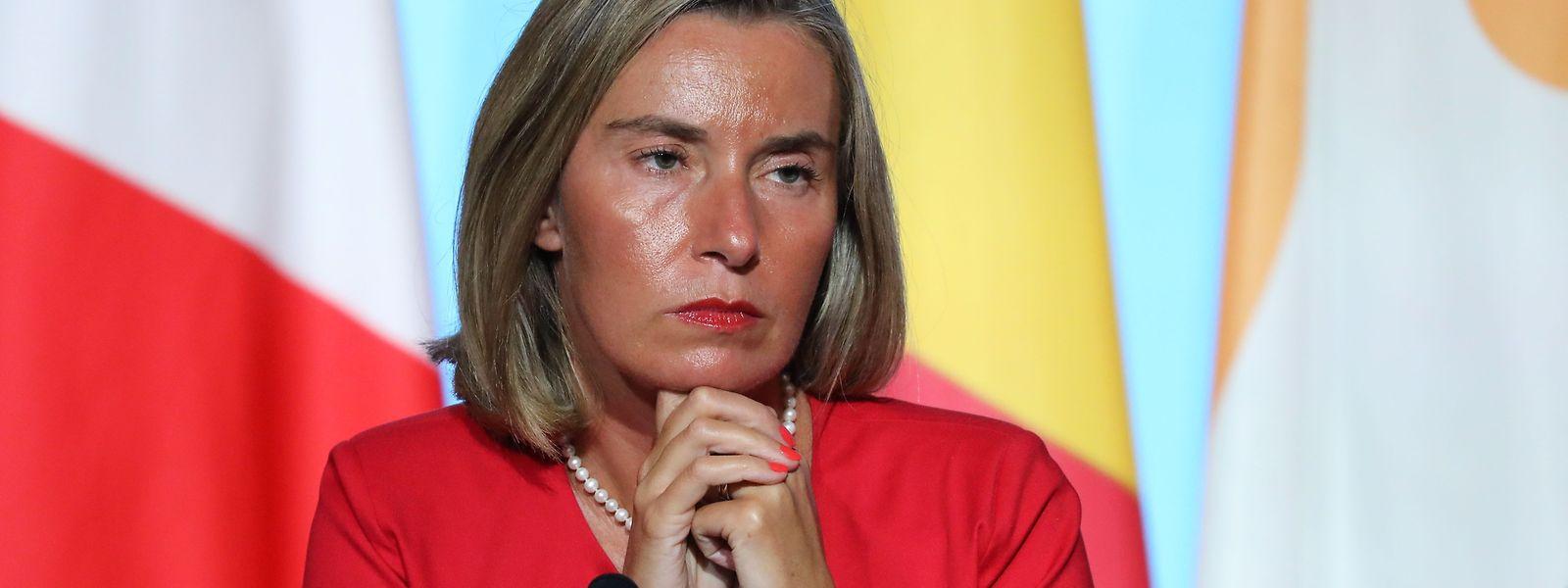 Mogherini will den Dialog weiterführen.