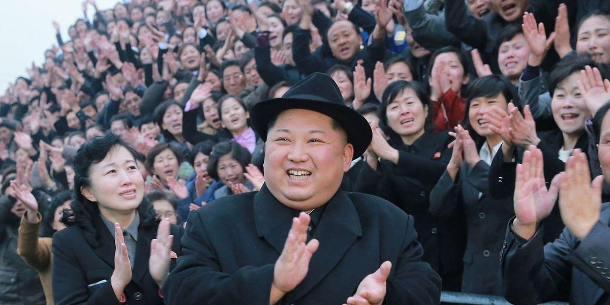 Nordkoreas Diktator Kim Jong-Un will sich Südkorea annähern.