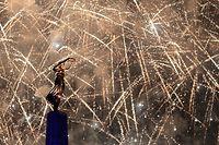 Nationalfeiertag 2019. Feuerwerk, Gëlle fra, Foto: Guy Wolff/Luxemburger Wort