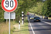 589 Fahrer haben sich nicht an die Geschwindigkeitsbegrenzungen gehalten.