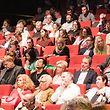 Zahlreiche Vertreter der Kulturszene nahmen an der Präsentation teil.