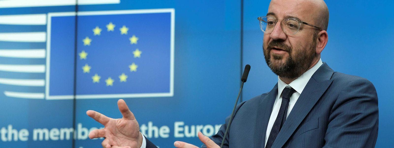 Le président Charles Michel dirigera les travaux de la Commission européenne chargés de budgétiser un plan de relance.