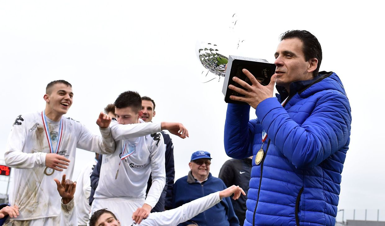 Un nouveau trophée pour le Racing de Carlo Tutucci.