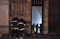 In der weltberühmten Kathedrale Notre-Dame in Paris war am Montag gegen 18.50 Uhr ein verheerendes Feuer ausgebrochen.