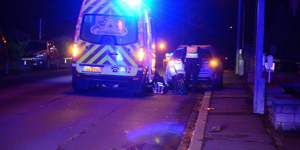 L'homme de 82 ans a été renversé dans la rue d'Echternach à Wasserbillig.