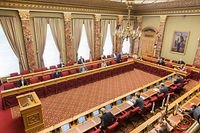 Politik, Chamber, aktuelle Stunde zum Corona-Virus, Ankündigung Xavier Bettel, Paulette Lenert, Foto: Lex Kleren/Luxemburger Wort