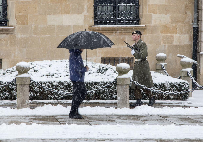 La neige est de retour sur le Luxembourg en ce mois de février!